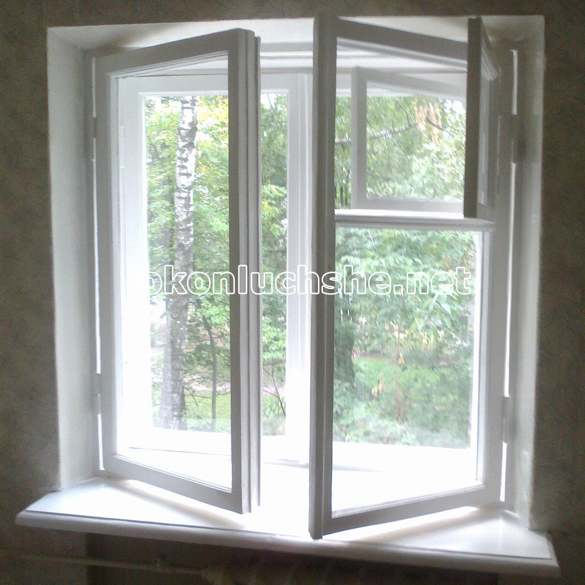 ремонт старого деревянного окна